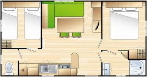 Plan mobil-home mercure